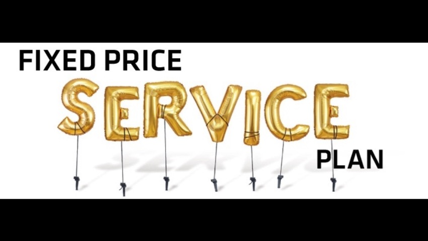 Fixed Price Service Plan
